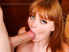 Sexy Girl Marie McCray Goes Down To Suck A Dude's Hard Cock