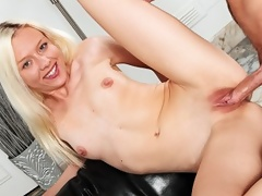 Young and Horny Jeanie wants to get fucked and swallow some cum