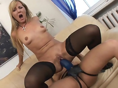 Kate has a massive intense squirting orgasm